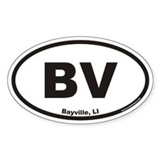 Bayville BV Euro Oval Decal
