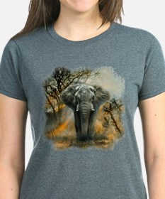 Elephant Sunrise Women's Dark T-Shirt