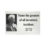 Mark Twain 9 Rectangle Magnet (100 pack)
