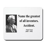 Mark Twain 9 Mousepad