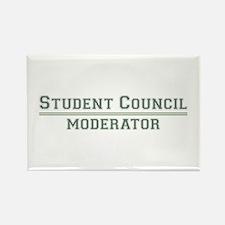 Student Council - Moderator Rectangle Magnet