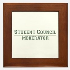 Student Council - Moderator Framed Tile