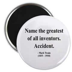 Mark Twain 9 Magnet