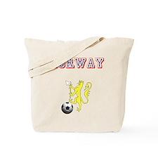 Norway football badge Tote Bag