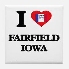 I love Fairfield Iowa Tile Coaster