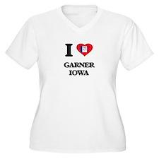 I love Garner Iowa Plus Size T-Shirt