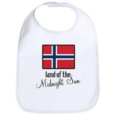 Norway Land of the Midnight Sun Bib