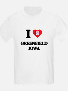 I love Greenfield Iowa T-Shirt