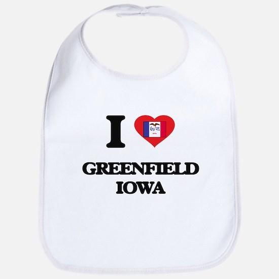 I love Greenfield Iowa Bib