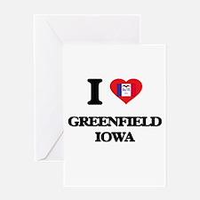 I love Greenfield Iowa Greeting Cards