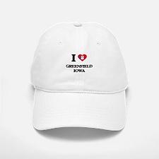 I love Greenfield Iowa Baseball Baseball Cap