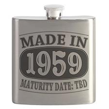 Made in 1959 - Maturity Date TDB Flask
