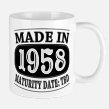 Made in 1958 - Maturity Date TDB Mug