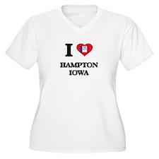 I love Hampton Iowa Plus Size T-Shirt