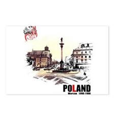 Poland Warsaw Postcards (Package of 8)
