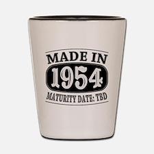 Made in 1954 - Maturity Date TDB Shot Glass