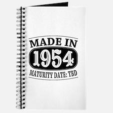 Made in 1954 - Maturity Date TDB Journal