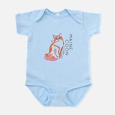 Maine coon cat Body Suit