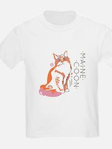 Maine coon cat T-Shirt