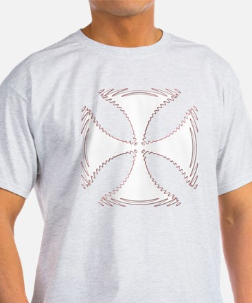 White HotRod Cross T-Shirt