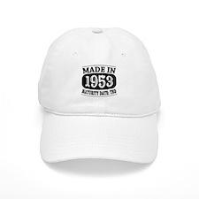 Made in 1953 - Maturity Date TDB Baseball Cap