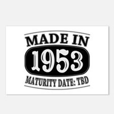 Made in 1953 - Maturity D Postcards (Package of 8)