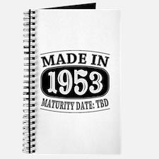 Made in 1953 - Maturity Date TDB Journal