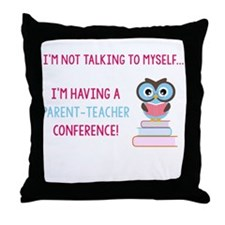 Parent-Teacher Conference Throw Pillow