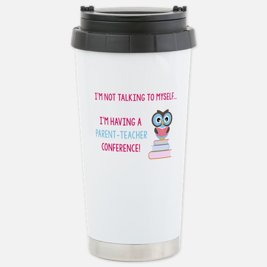 Parent-Teacher Conference Travel Mug