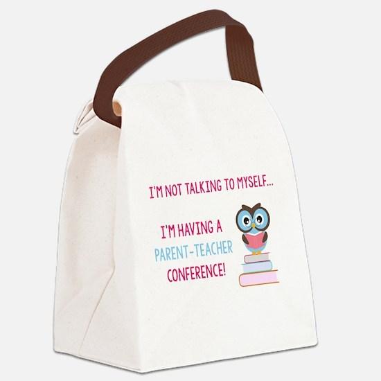 Parent-Teacher Conference Canvas Lunch Bag