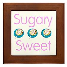 Sugary Sweet  Framed Tile