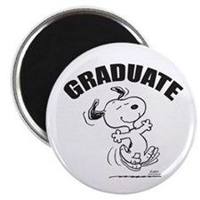 Dancing Dog Graduate Magnet