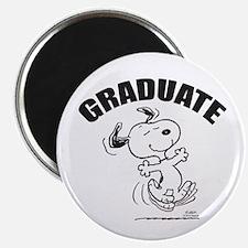 Dancing Dog Graduate Magnet