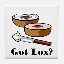 Got Lox?  Tile Coaster