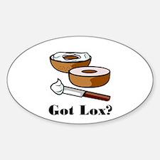 Got Lox? Oval Decal