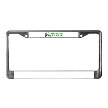 widespread panic License Plate Frame