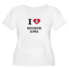 I love Keokuk Iowa Plus Size T-Shirt