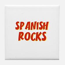 Spanish~Rocks Tile Coaster
