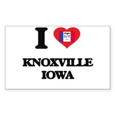 I love Knoxville Iowa Decal