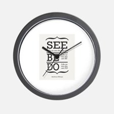 See like no one else can see. Wall Clock