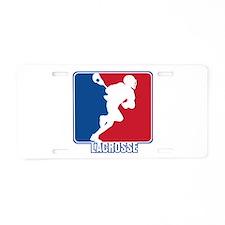Major League Lacrosse Aluminum License Plate