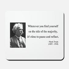 Mark Twain 11 Mousepad