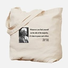 Mark Twain 11 Tote Bag
