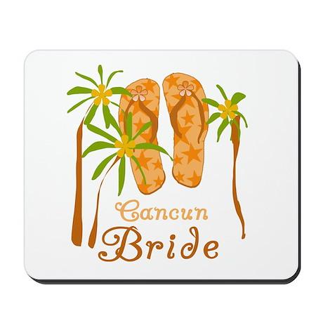 Tropical Cancun Bride Mousepad