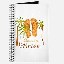 Tropical Cancun Bride Journal