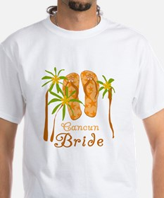 Tropical Cancun Bride Shirt
