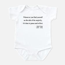 Mark Twain 11 Infant Bodysuit
