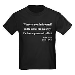 Mark Twain 11 Kids Dark T-Shirt