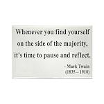 Mark Twain 11 Rectangle Magnet (100 pack)