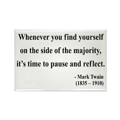 Mark Twain 11 Rectangle Magnet (100 pack)